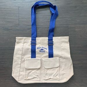 Walt Disney World tote canvas shoulder bag